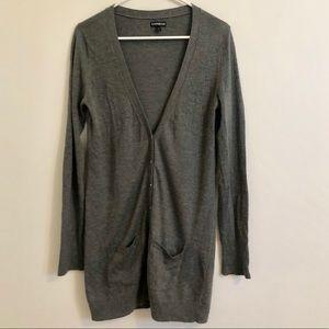 V-Neck Boyfriend Cardigan Sweater